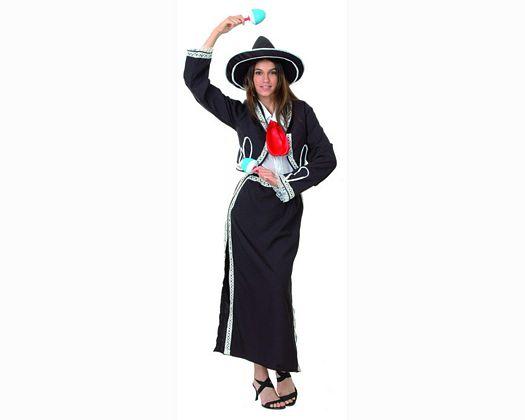 Disfraz de mariachi mujer adulto