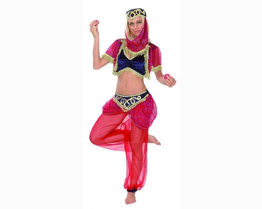 Disfraz de sultana adulto