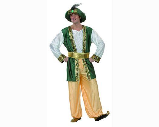 Disfraz de rey arabe adulto