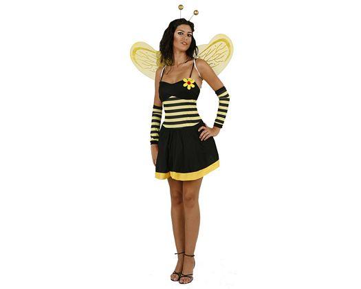 Disfraz de abeja sexy adulto
