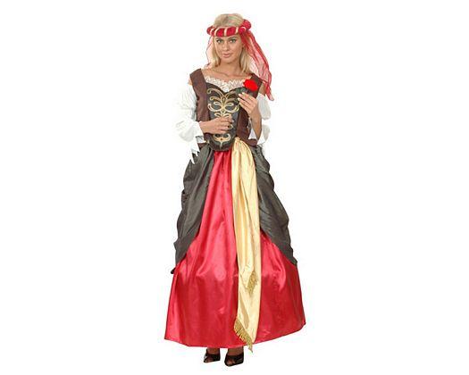 Disfraz de dama renacentista, adulto