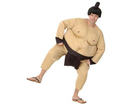 Disfraz de sumo adulto