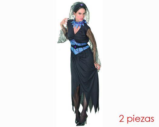 Disfraz de viuda negra Talla 2 (M-L)