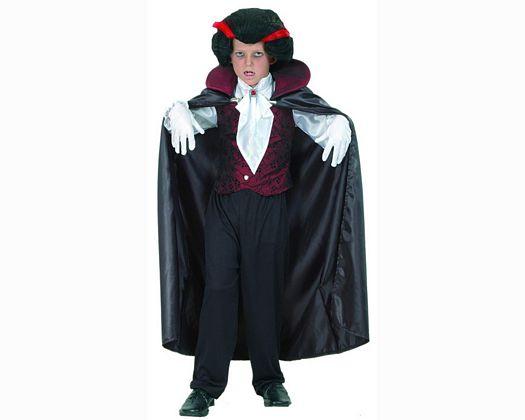 Disfraz de vampiro gotico 10-12 aÑoniÑo