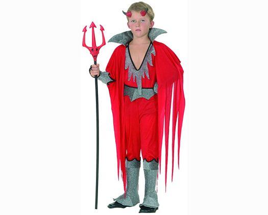 Disfraz de demonio Talla 3 (7 – 9 años) añoniño