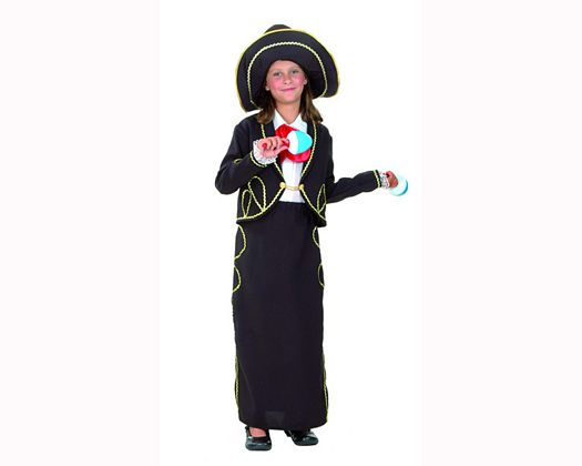 Disfraz de mariachi Talla 2 (5 – 6 años) añoniña