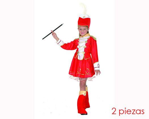 Disfraz de majorette 4-6 años niña