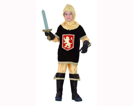 Disfraz de rey medieval 10-12 años niño