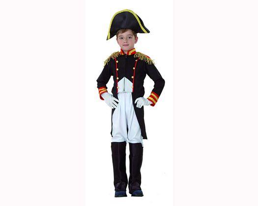 Disfraz de general frances Talla 3 (7 – 9 años) añoniño