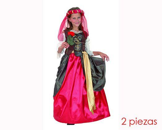 Disfraz de renacentista 5-6 años