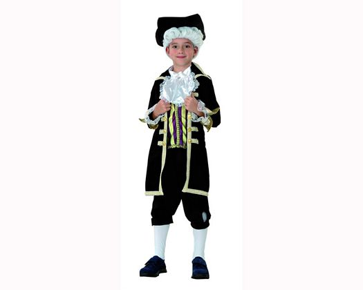 Disfraz de noble niño, 5-6 años