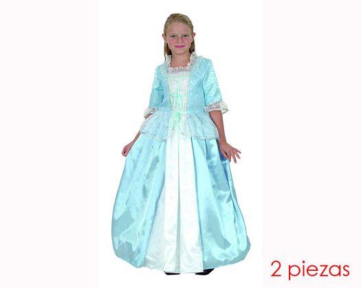 Disfraz de princesa de lujo 7-9 años