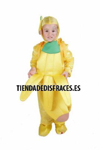 Disfraz de Plátano 18 meses