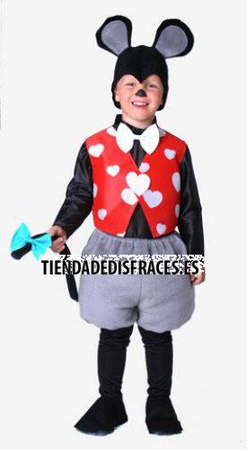Disfraz de Ratoncito infantil 0 a 3 años, talla 0