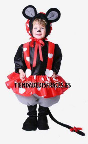 Disfraz de Ratoncita infantil 0 a 3 años, talla 0
