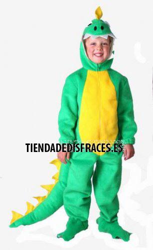 Disfraz de Dinosaurio infantil 1 a 3 años, talla 0
