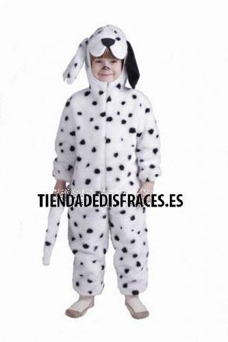 Disfraz de Dálmata especial infantil 0 a 3 años, talla 0