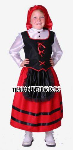 Disfraz de Pastora infantil 9-11 años, talla 4