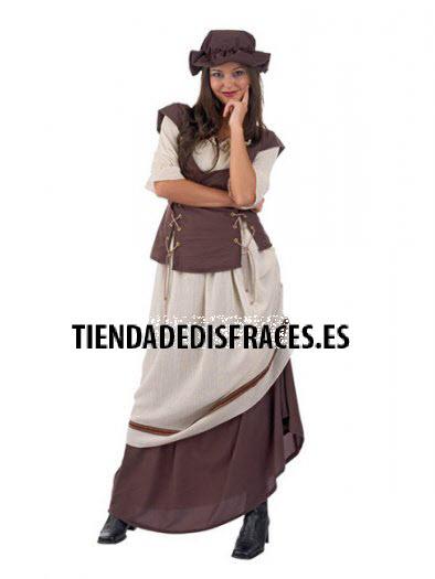 Disfraz de Tabernera Medieval Laia deluxe