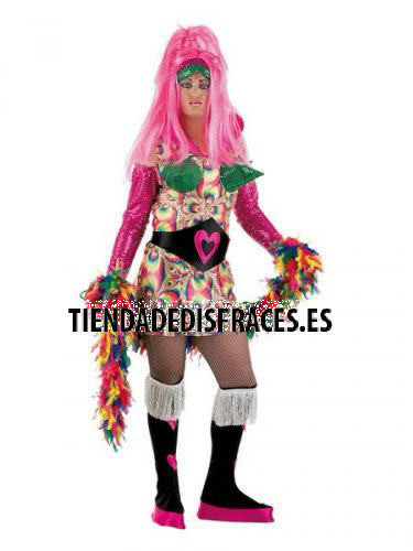 Disfraz de Drag Queen Corazón deluxe talla L