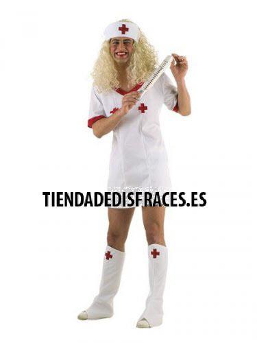 Disfraz de Enfermera sorpresa hombre deluxe