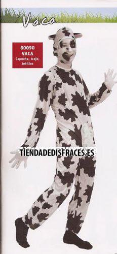 Disfraz de Vaca adulto con sonido
