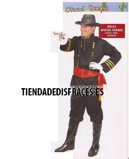 Disfraz de Oficial Yanqui