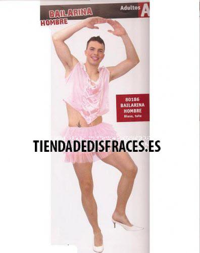 Disfraz de Bailarina hombre adulto