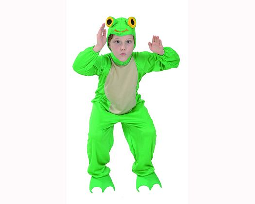 Disfraz de rana 5-6 años niño