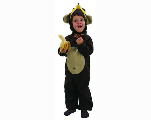 Disfraz de mono 3-4 años