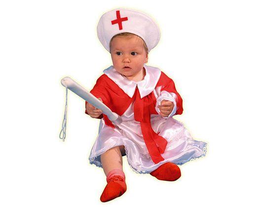 Disfraz de enfermera 12-24 meses