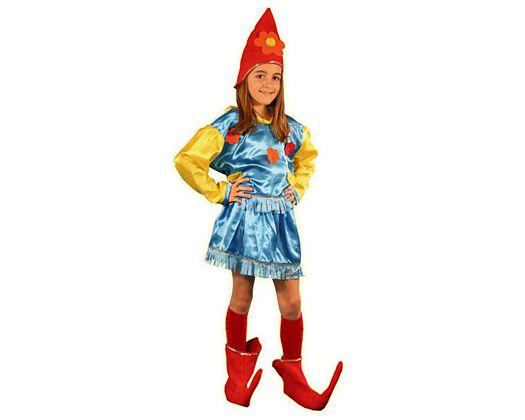 Disfraz de duende 7-9 años niña
