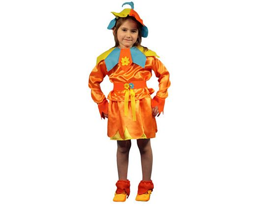 Disfraz de niña flor bebe 1-2