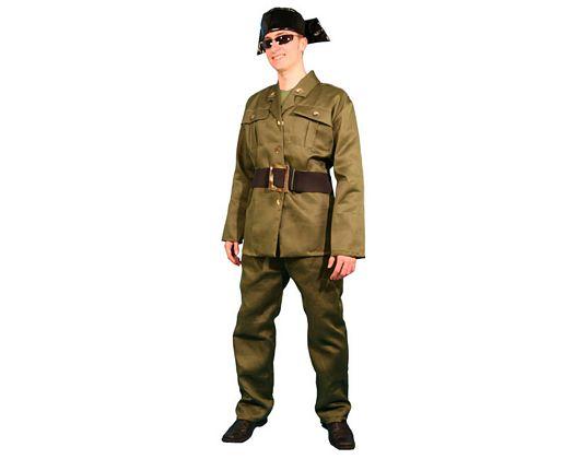 Disfraz de guardia civil adulto