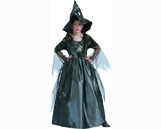 Disfraz de bruja negra 10-12 aÑos