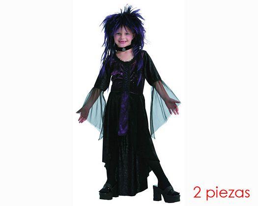 Disfraz de vampiresa Talla 2 (5 – 6 años) años