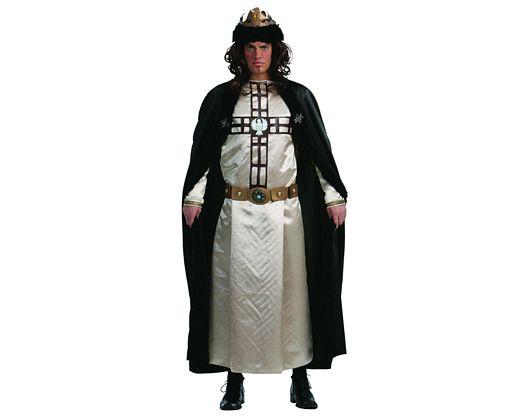 Disfraz de rey de las cruzada adulto