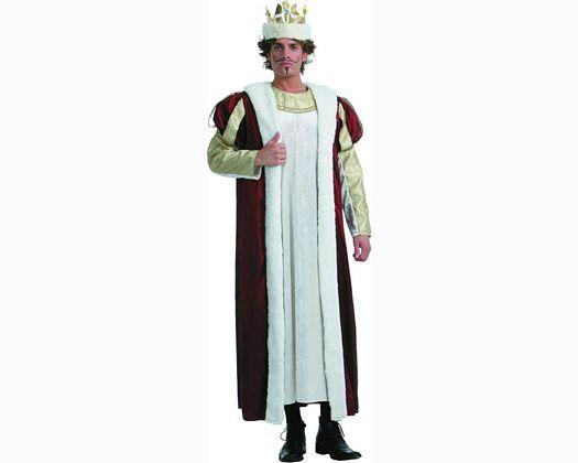 Disfraz de rey adulto