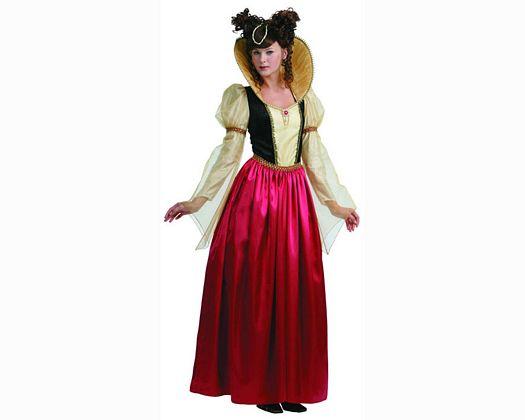 Disfraz de dama de la realeza mujer
