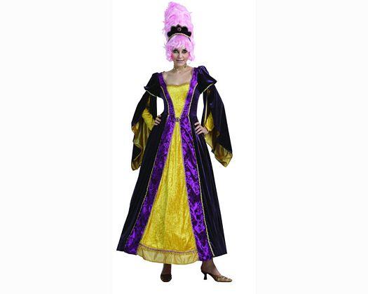 Disfraz de princesa noble mujer
