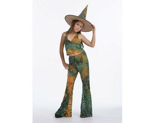 Disfraz de bruja del bosque Talla 4 (10 – 12 años) años