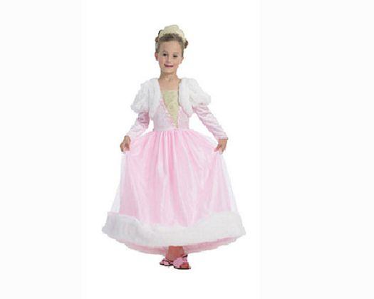 Disfraz de reina rosa 5-6 aÑos