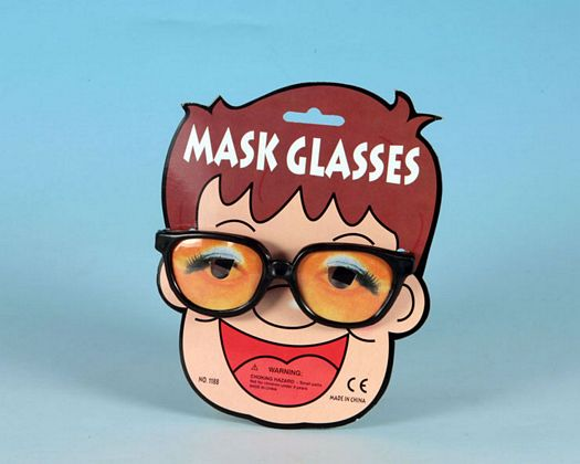 Tarj ac carnaval gafas 15x18cms