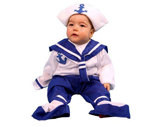 Disfraz de marinero, niño 3-4 años