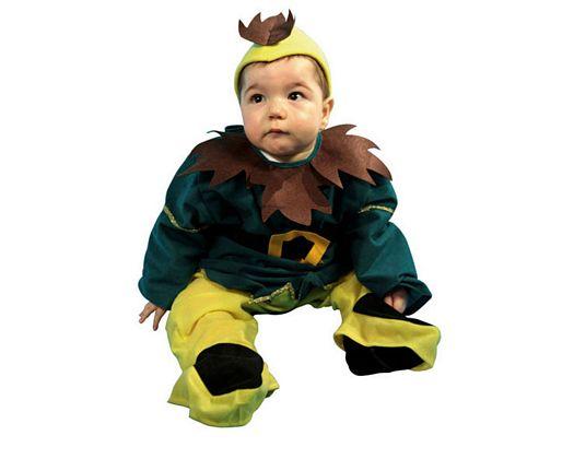 Disfraz de gnomo, bebe 1-2 años
