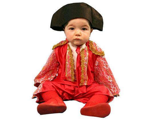 Disfraz de torero, niño Talla 1 (3 – 4 años)