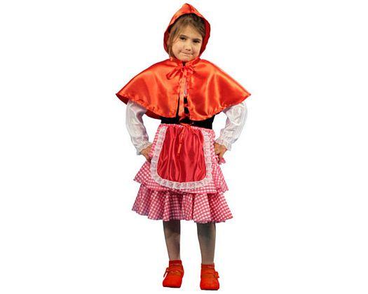 Disfraz de caperuza, 5-6 aÑos