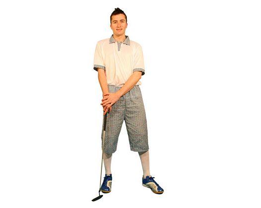 Disfraz de jugador de golf, hombre