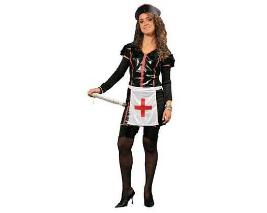 Disfraz de enfermera malvada sexy