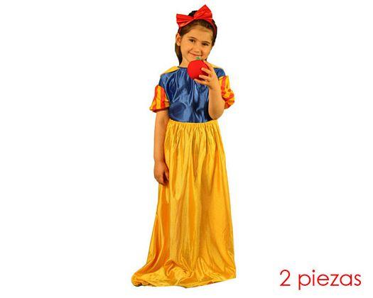 Disfraz de princesa de las nieves talla 2